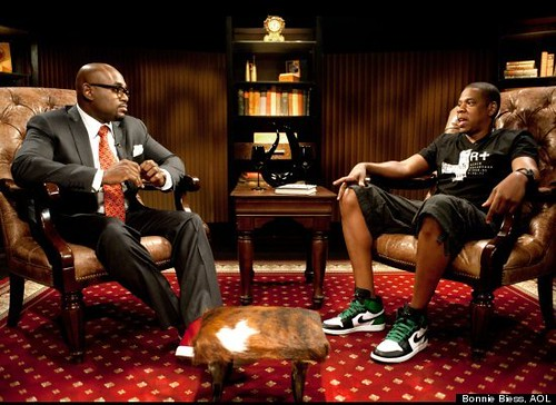 Steve Stoute interviews Jay-z
