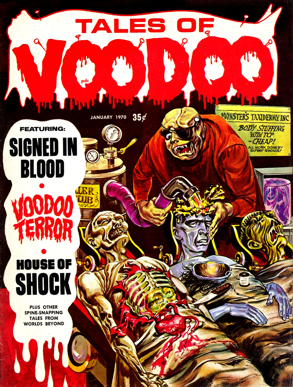 Tales of Voodoo Vol. 3 #1 (Eerie Publications 1970)
