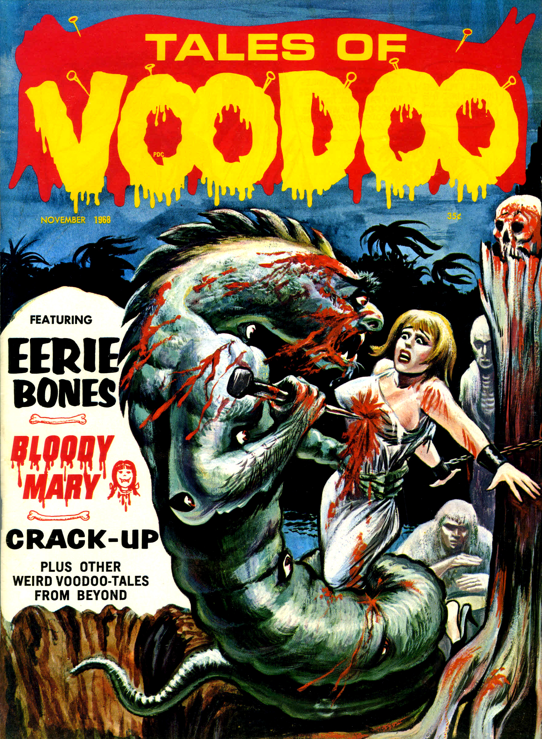 Tales of Voodoo Vol. 1 #11 (Eerie Publications, 1968)