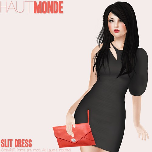 Haut Monde - Slit Dress