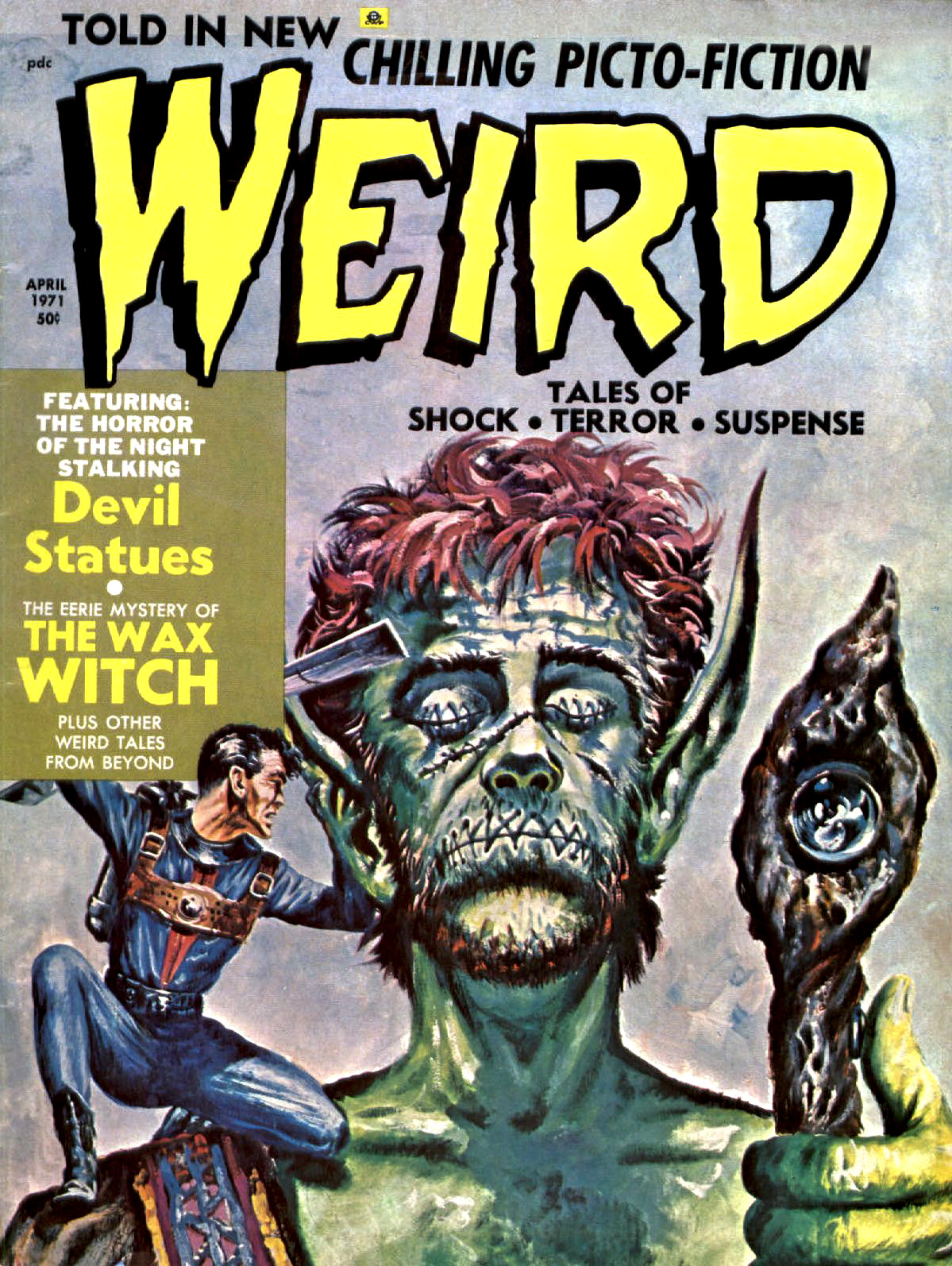 Weird Vol. 05 #2 (Eerie Publications, 1971)