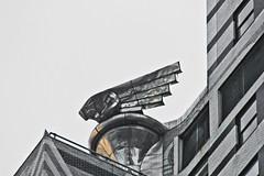 Chrysler Building - Gargoyles (michael_hamburg69) Tags: city nyc usa newyork detail building america manhattan unitedstatesofamerica stadt artdeco chrysler gargoyles amerika bigapple steal metropole stahl ostkste rostfrei wasserspeier