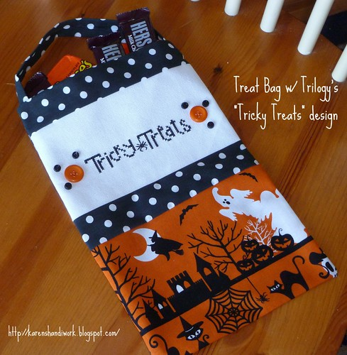 Tricky treats bag