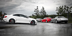 AMG BOYS *Explored* (Keno Zache) Tags: red white photography mercedes back power german series sls amg cls combo nrburgring keno sportwagen c63 zache
