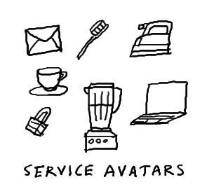 Service avatars