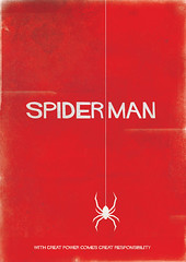 Spiderman ([rich]) Tags: red poster rich spiderman retro richard page richpage richardpage