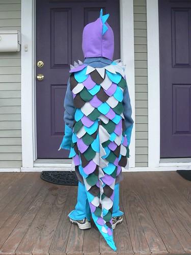 Jenny: Rainbow Lizard Costume