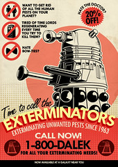 Dalek Pest Exterminations (Tom Trager) Tags: vintage river matt newspaper tv cool pond amy who song ad smith retro doctor quotes doctorwho scifi dalek tardis vector tombaker exterminate peterdavison colinbaker simplistic mattsmith sylvestermccoy patricktroughton davidtennant christophereccleston jonpertwee paulmcgann williamhartnell gallifrey