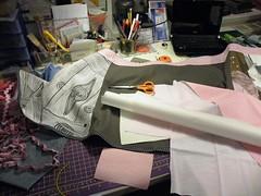 a new skirt ... (monaw2008) Tags: pink handmade embroidery skirt applique monaw monaw2008