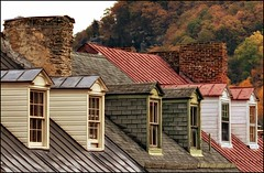 My Dripping Sleep .... (gentletouches) Tags: autumn windows historic civilwar westvirginia harpersferry dormers johnbrown