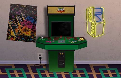 Arcade Backdrop