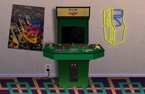 Arcade Backdrop
