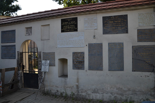 Cementerio judío en Kazimierz