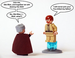 Wrong Episode (Oky - Space Ranger) Tags: 2 star back funny kill lego father luke attack wrong darth join clones empire obi wars vader wan clone strikes episode count skywalker kenobi dooku geonosis