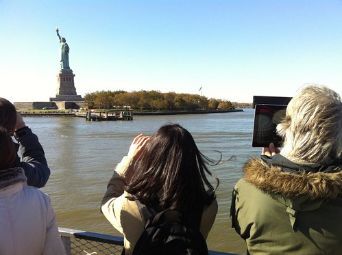 iPad Videography of the Statue of Liberty