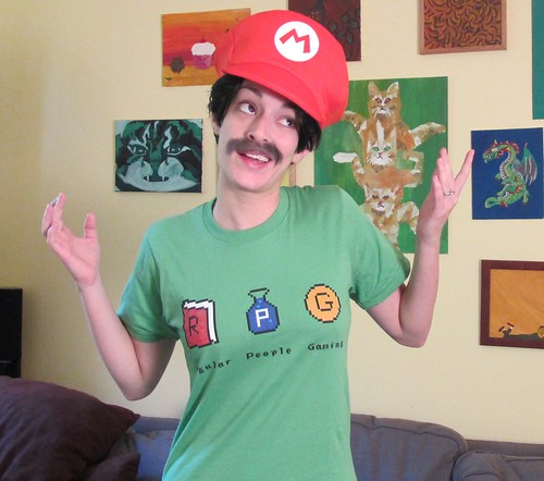 Mario loves Regular People Gaming!