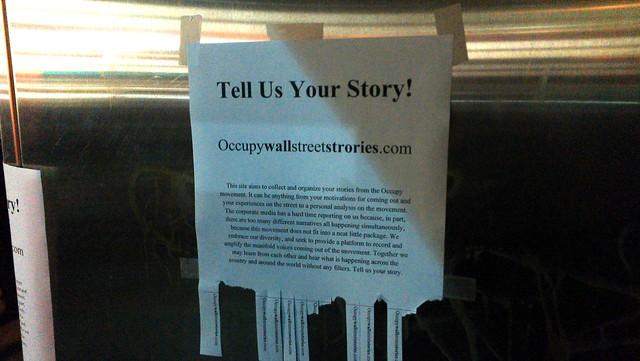 Occupywallstreetstories.com