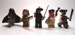 Pirates Life for Me Contest Entry - The Crew of Franois's Revenge (Uno Brick) Tags: lego pirates entry minifigure apirateslifeforme legocontestnetwork