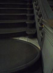 Michelangelo, Laurentian Vestibule Stair Edge