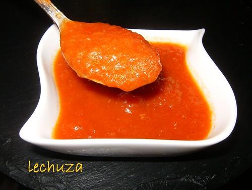 Salsa tomate verduras-cucharada