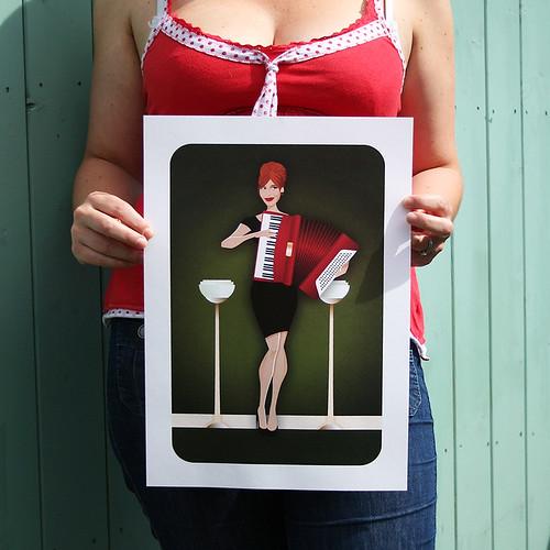 Joan Harris Print