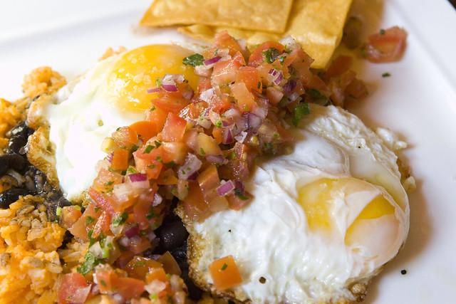 Huevos Rancheros Spanish Style