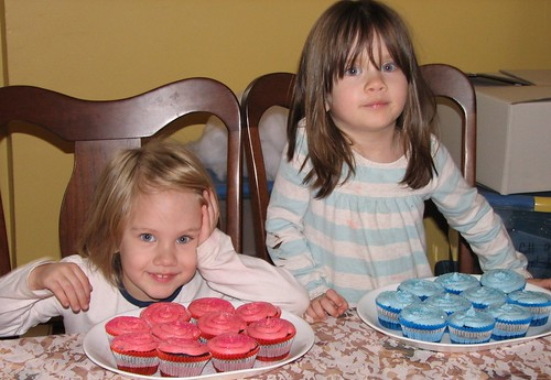 Sissy made cupcakes for us!