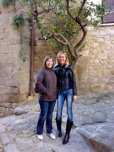 Nieves y Yolanda