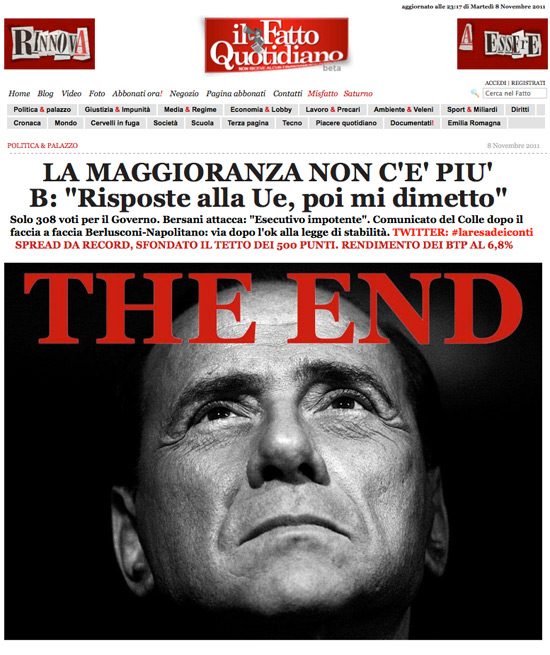Portada 'Il Fatto Quotidiano'