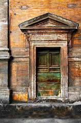 The Old Door (riclane) Tags: door old italy rome grafiti rustic textures hdr