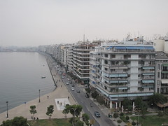 Thessaloniki city in autumn (Spotter_CY) Tags: city autumn sea white tower museum greek coast seaside aegean greece macedonia grecia thessaloniki grece salonica makedonia    griechland