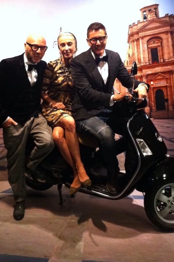 Domenico @francasozzani & me.....yesterday in shanghai!!! Dolce & Gabbana event...