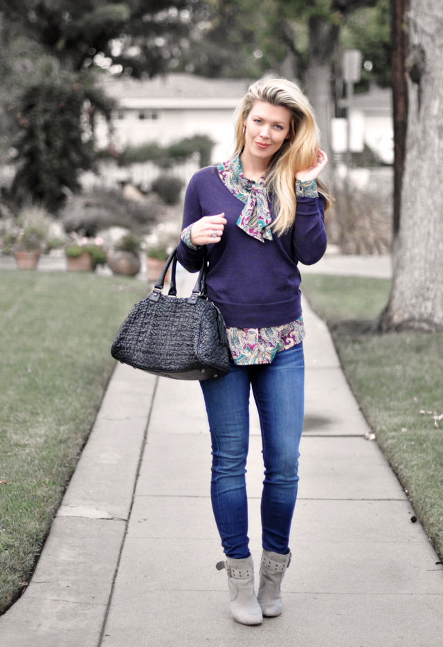 jeans-blouse-sweater-bag- boots