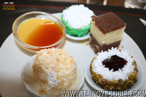 assorted cakes