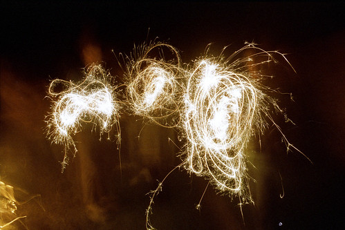 three sparklers by pho-Tony