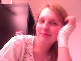 bandages..