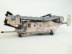 MV-22B Osprey (2) (Mad physicist) Tags: usmc lego military marines osprey v22 tiltrotor mv22b