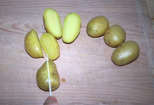 27 - Kartoffeln zerteilen