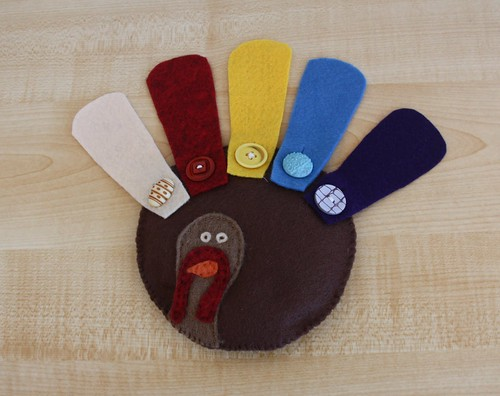 Button Turkey (Photo from Counting coconuts)