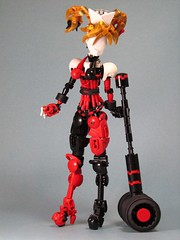 Harley Quinn 2 (retinence) Tags: girl female factory lego contest super harley unite hero batman quinn heroes fusion bionicle villian moc