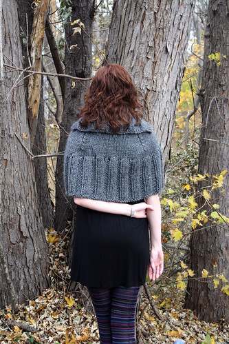 Lil' Gray Cape - Back