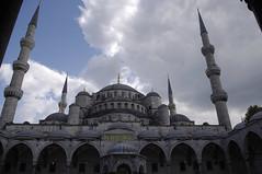 Mezquita Azul - Estambul (Vanina Posada) Tags: vacaciones turquia estambul vanina vaninaposada vaninapc
