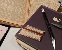 Scripture pendants cut