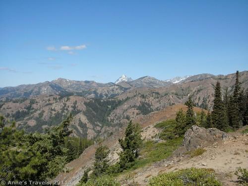 View from Teanaway Ridge, Okanogan-Wenatchee National Forest, Washington