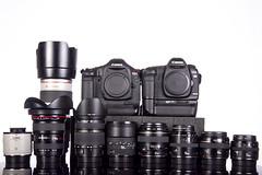 The setup. (dkfx photography) Tags: 35mm canon 50mm zoom wide 85mm fisheye collection telephoto 7d usm softbox 15mm bodies 1740 strobe 50mmf14 lenses productshot cameraporn lensporn tamron2875f28 85mmf18 1740f4l 2xteleconverter 35mmf2 2875mm 70200f28is sigma15mmf28 strobist 50mmf25macro 1dmarkiii 1dmk3 300ws 5dmarkii dkfx 5dmk2