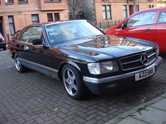 1983 Mercedes Benz 500 SEC (GoldScotland71) Tags: mercedes benz 1983 500 sec 1980s coupe a22rns