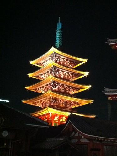 Asakusa pagoda