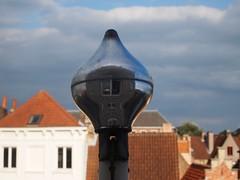 .shrink. (lindscatt) Tags: sky abstract reflection skyline mirror high rooftops belgium belgique belgie image brugge reflect bruges mirrorimage shrunk