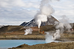 Under Pressure (Danil) Tags: mountain plant water field landscape volcano iceland pond nikon factory daniel smoke roadtrip steam pressure geothermal myvatn sland vi turqoise islande landschap hverfjall d300 ringroad krafla mvatn nmafjall ijsland bjarnarflag soufre jarbin jarbadsholar