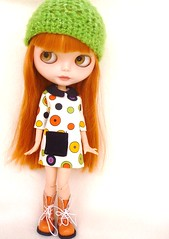 New dress and hat for my sweety
